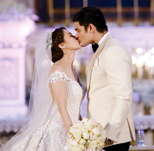 (Dingdong Dantes - Marian Rivera Wedding from Nice print)