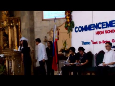 kristel graduation speech