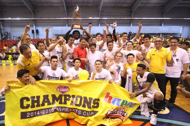 Hapee wins from D-League double after downing Cafe France in finals opener