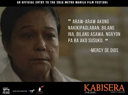 "Famous Line Ng Mga Artista : Superstar nora aunor proud of her film ""kabisera"