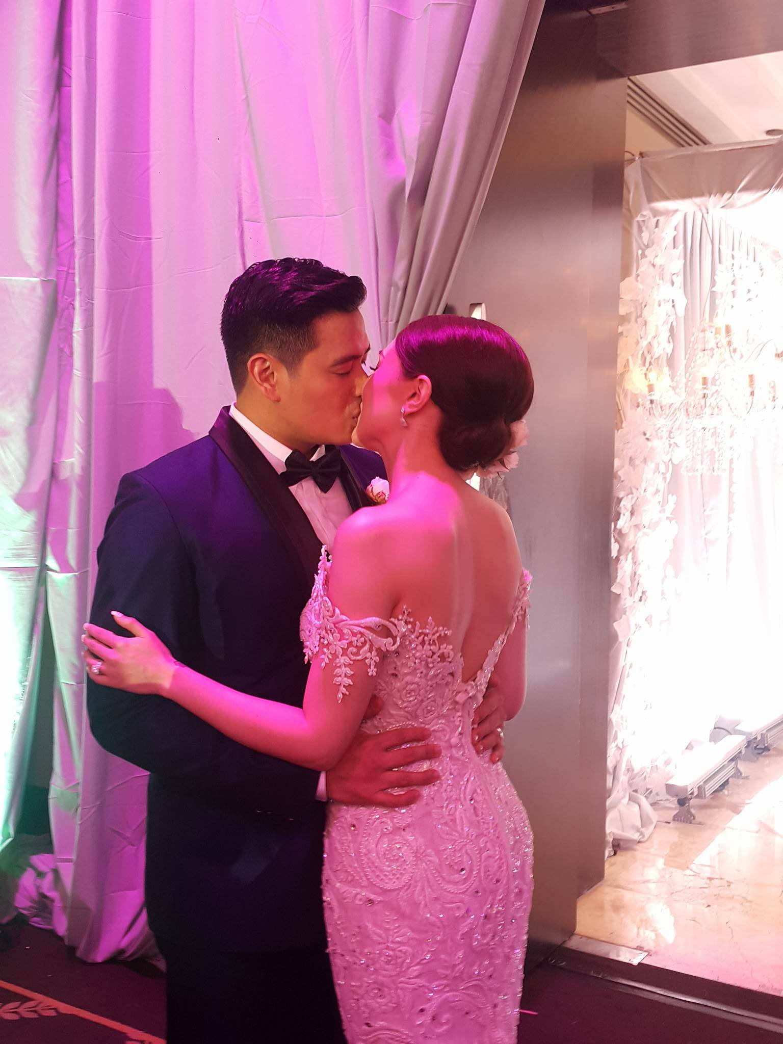 Alfred Vargas marries his amore - PSR.ph