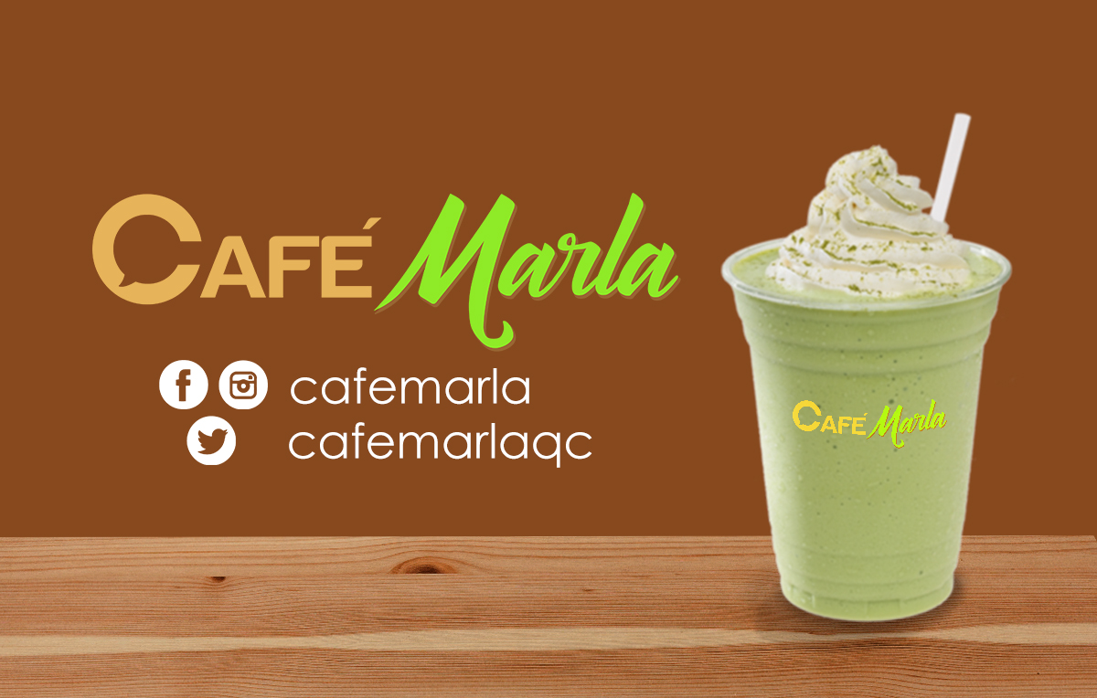 Café Marla Advertisement