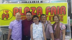 Danny Velasco with Jemuel Salterio, Pilar Mateo, Wendell Alvarez, Nitz Celso